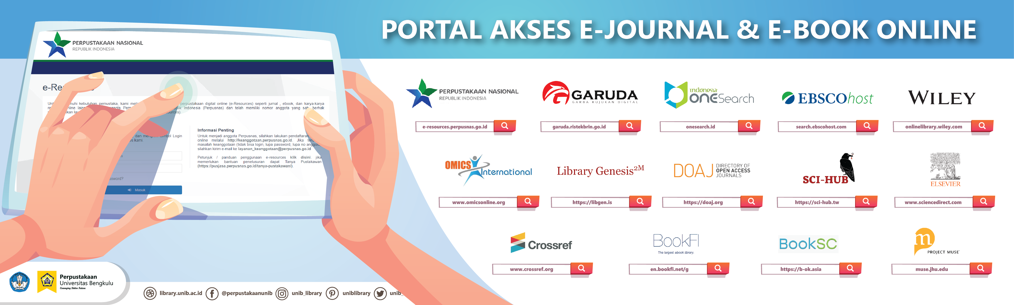 PORTAL AKSES E-JOURNAL & E-BOOK ONLINE