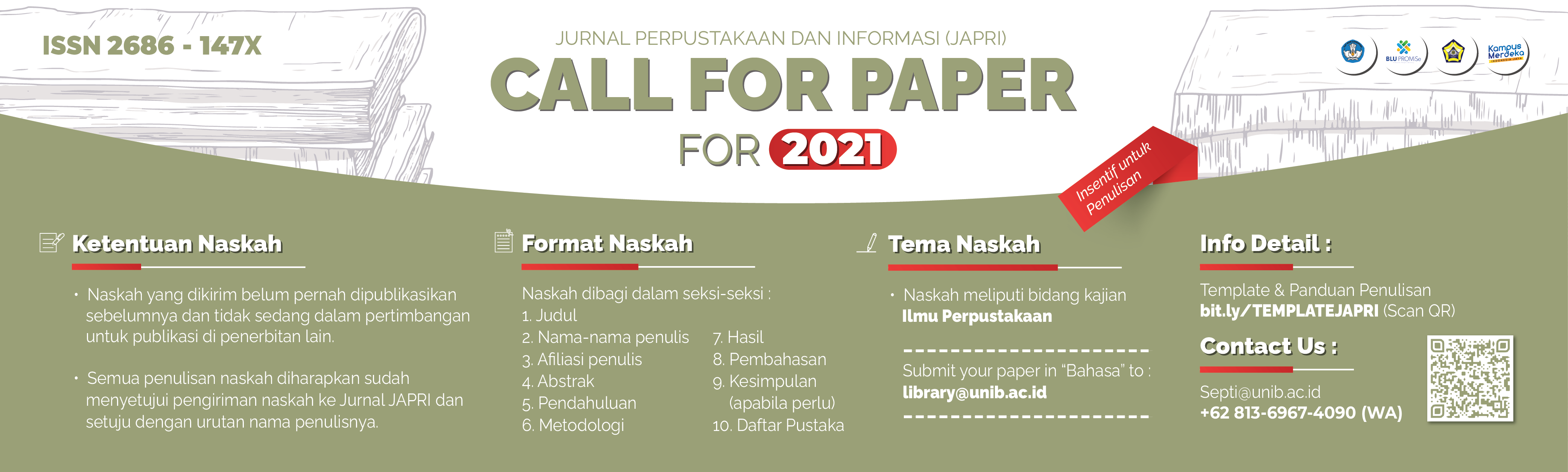 CALL FOR PAPER 2021